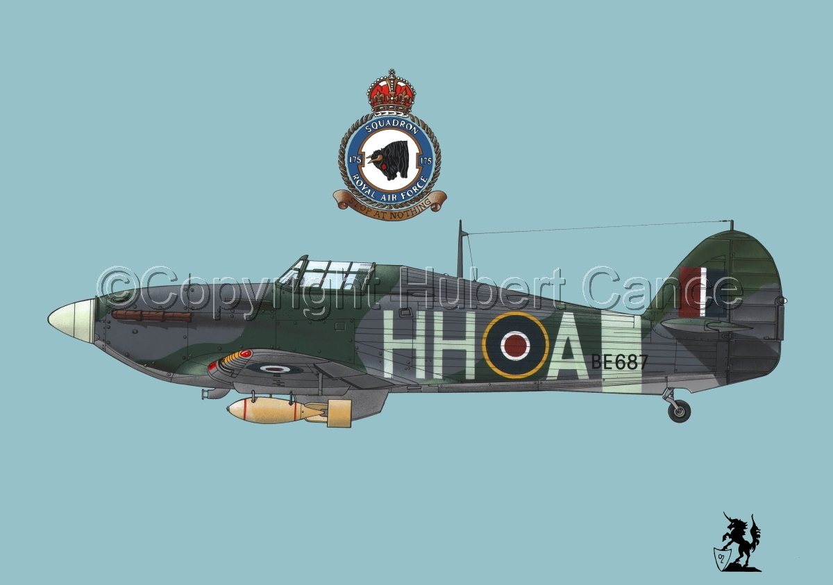 "Hawker ""Hurricane"" Mk.IIb ""Hurribomber"" #1.2 (large view)"