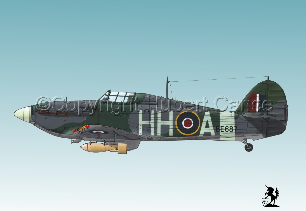 "Hawker ""Hurricane"" Mk.IIb ""Hurribomber"" #1bis.3 (large view)"