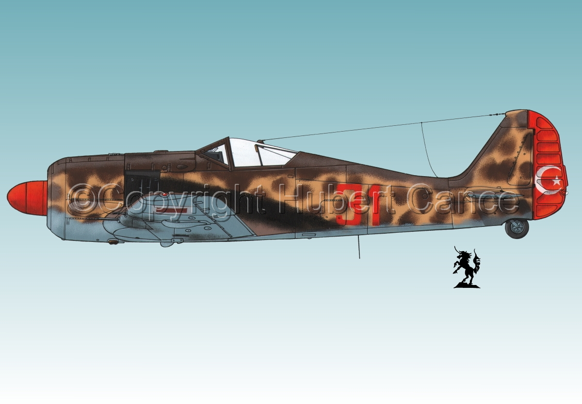 Focke-Wulf Fw 190A-3 #3.3 (large view)
