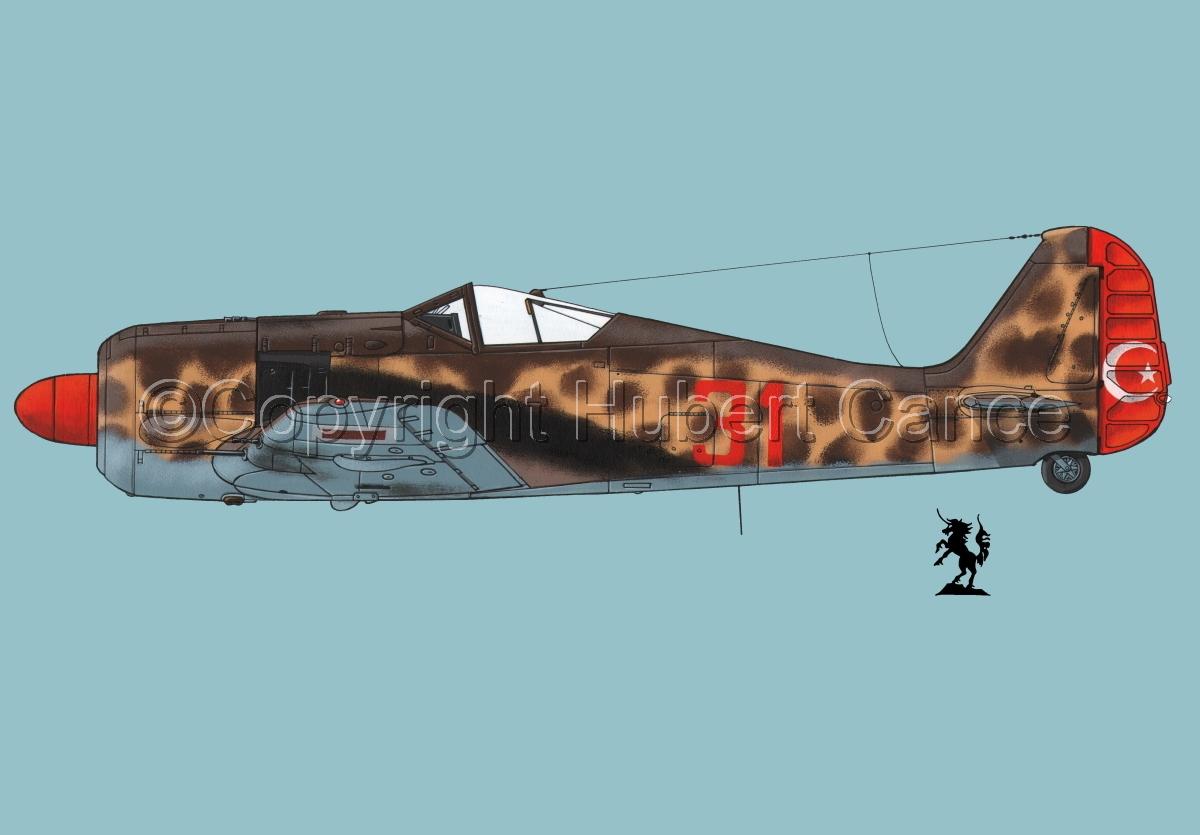 Focke-Wulf Fw 190A-3 #3.2 (large view)