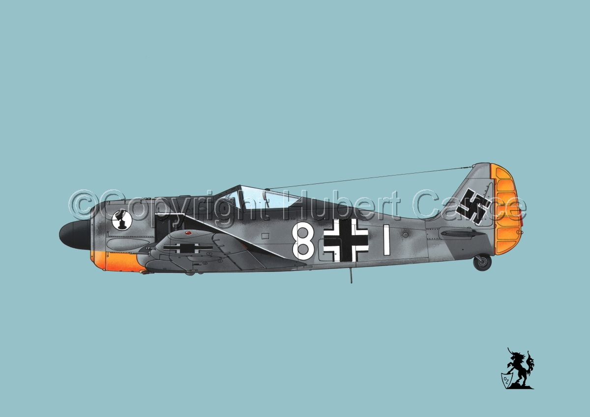 Focke-Wulf Fw 190A-3 #4bis.2 (large view)