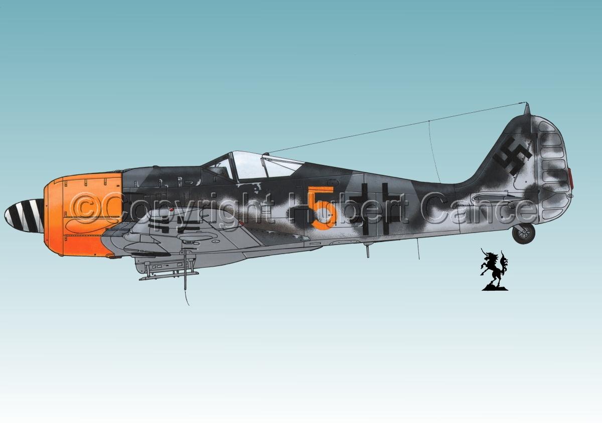 Focke-Wulf Fw 190A-8 #2.3 (large view)
