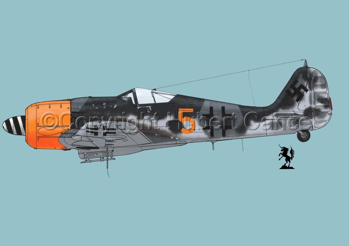 Focke-Wulf Fw 190A-8 #2.2 (large view)