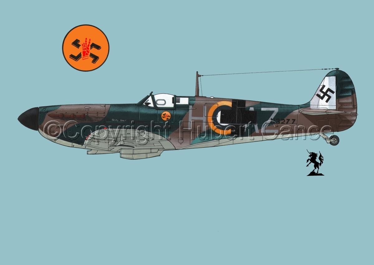"Supermarine ""Spitfire"" Mk.Ia #4.2 (large view)"