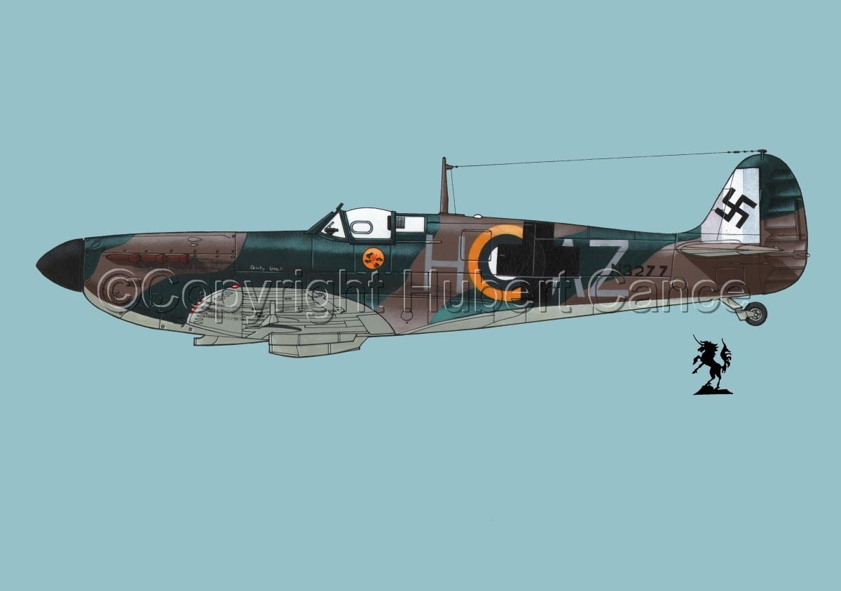 "Supermarine ""Spitfire"" Mk.Ia #4bis.2 (large view)"