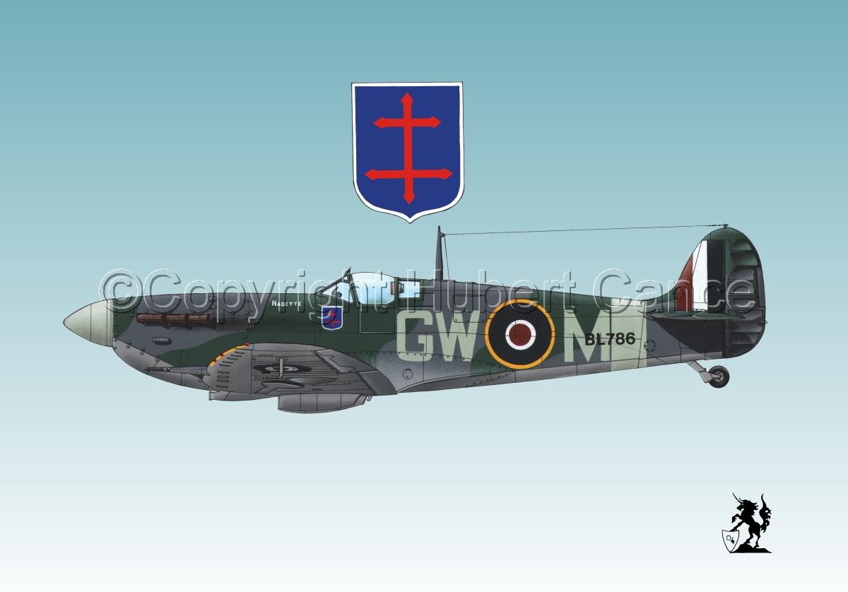 "Supermarine ""Spitfire"" Mk.Vb #1.3 (large view)"