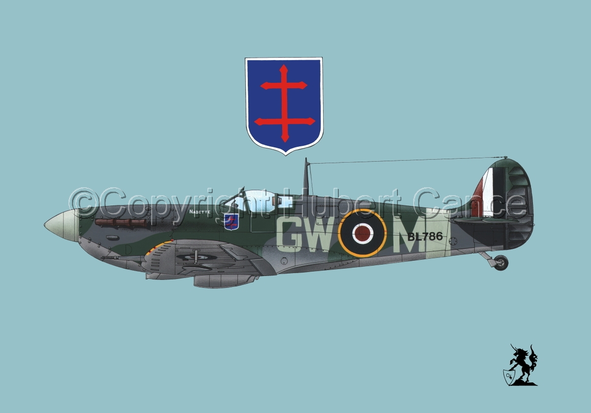"Supermarine ""Spitfire"" Mk.Vb #1.2 (large view)"