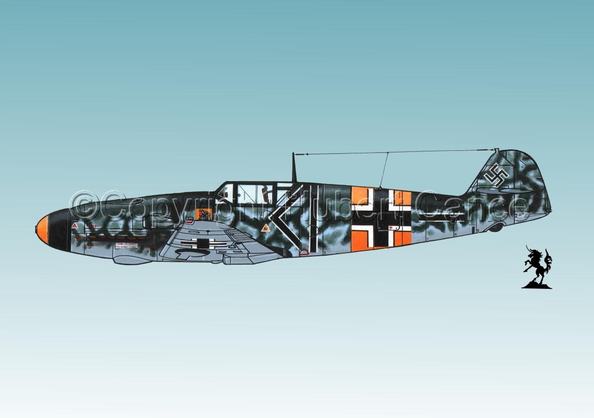 """Messerschmitt Bf 109F-2 """"Friedrich""""#1.3 (large view)"""