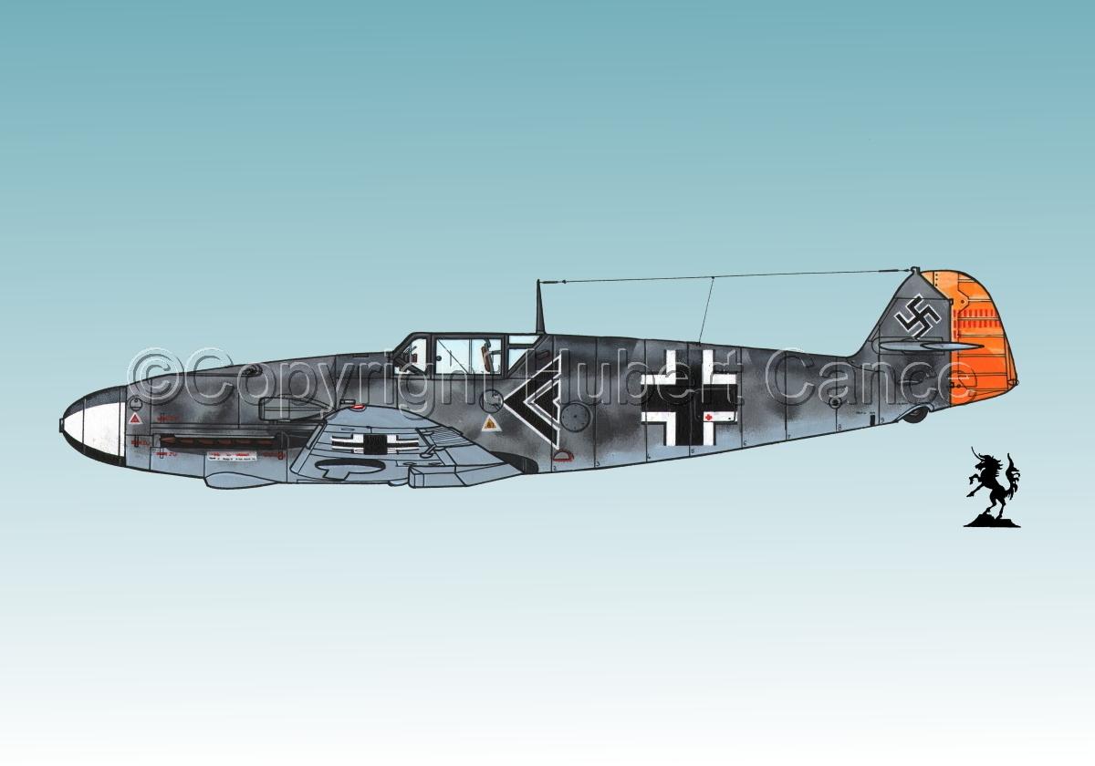"""Messerschmitt Bf 109F-2 """"Friedrich"""" #2.3 (large view)"""