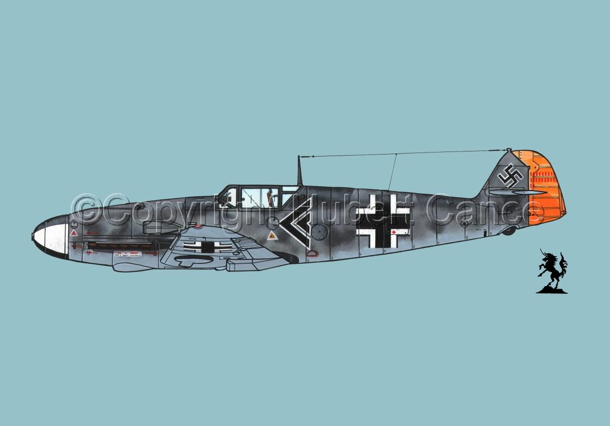 """Messerschmitt Bf 109F-2 """"Friedrich"""" #2.2 (large view)"""