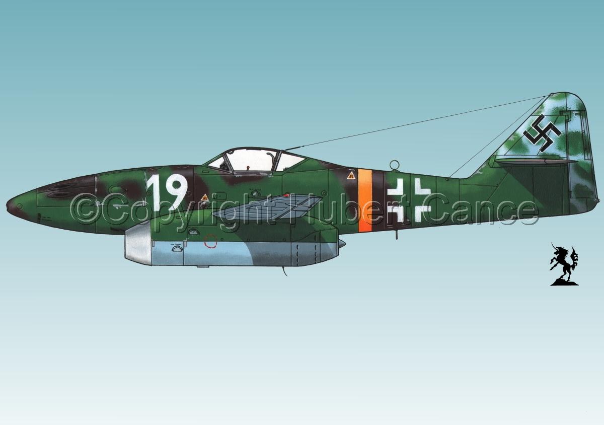 """Messerschmitt Me 262A-1a """"Schwalbe""""#1.3 (large view)"""