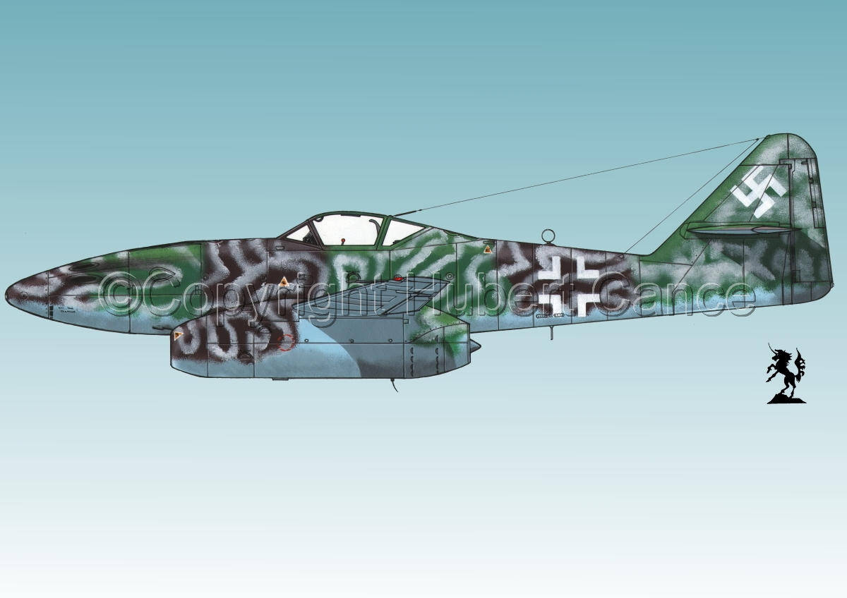 "Messerschmitt Me 262A-1a ""Schwalbe"" #2.3 (large view)"