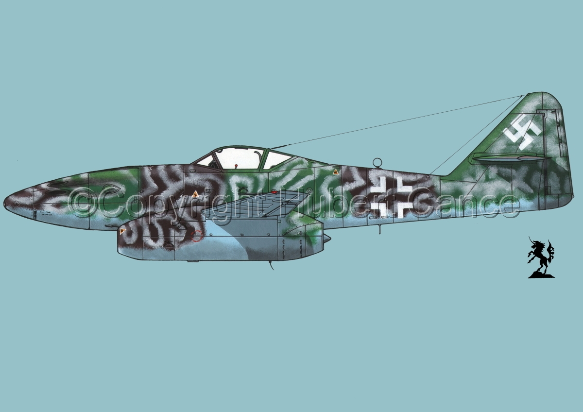 "Messerschmitt Me 262A-1a ""Schwalbe"" #2.2 (large view)"