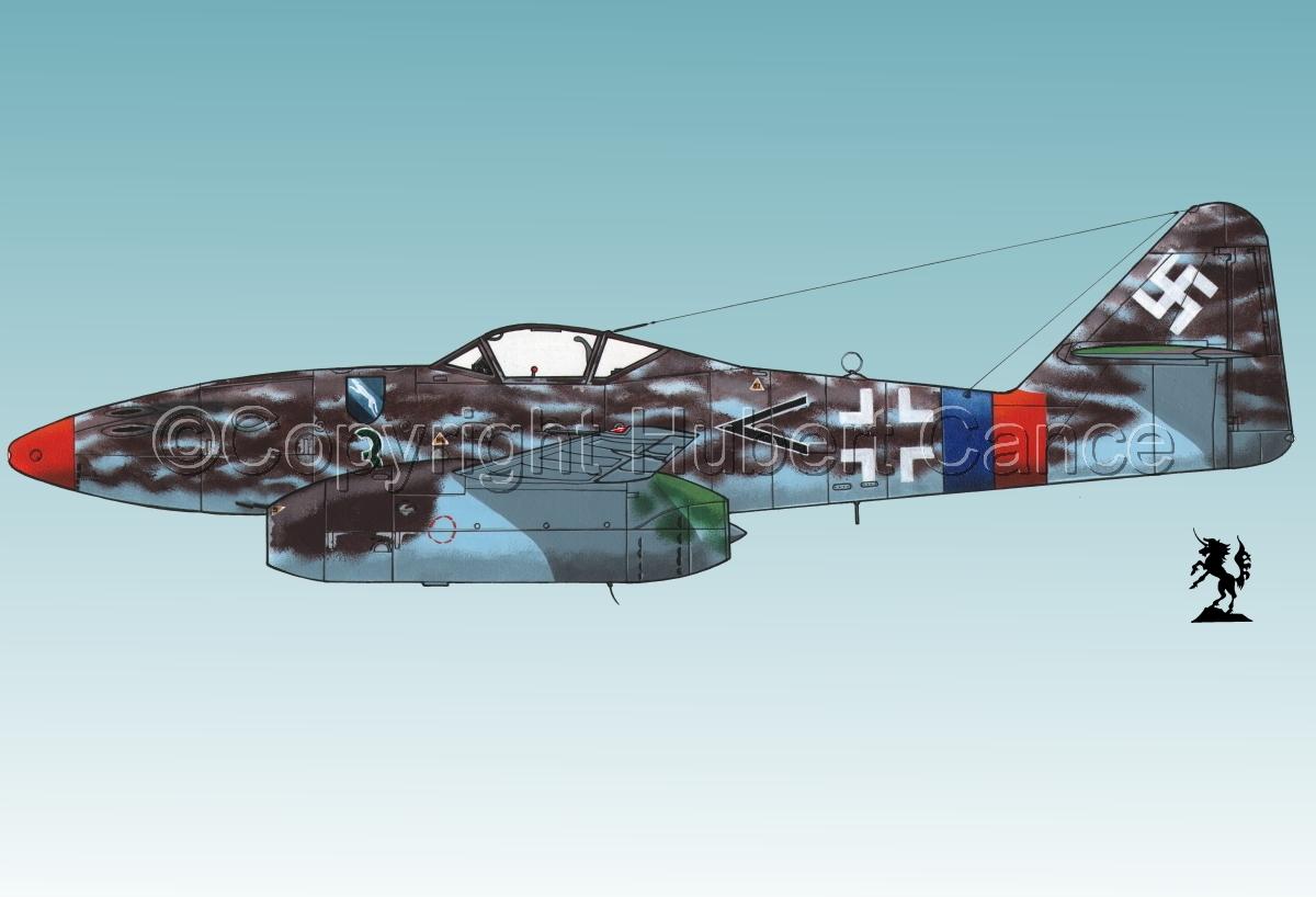 """Messerschmitt Me 262A-1a """"Schwalbe"""" #3.3 (large view)"""