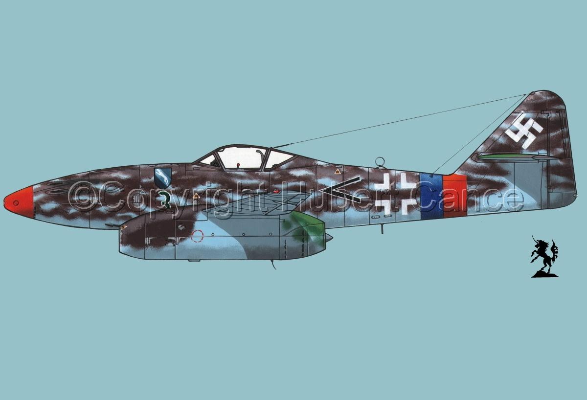 """Messerschmitt Me 262A-1a """"Schwalbe"""" #3.2 (large view)"""