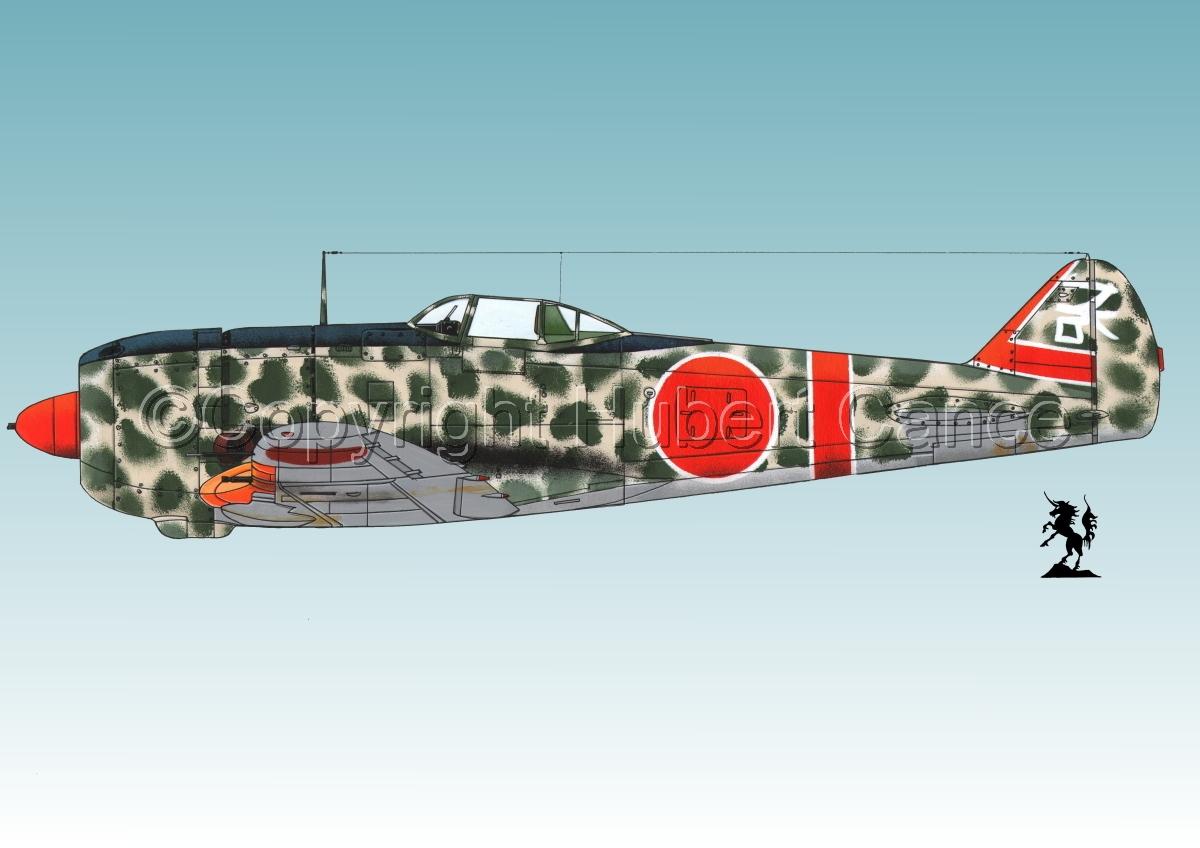 """Nakajima Ki.44-II Otsu """"Shoki"""" (Tojo) #1.3 (large view)"""
