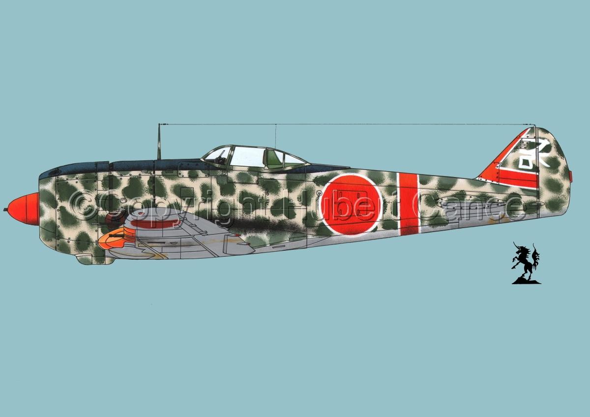 """Nakajima Ki.44-II Otsu """"Shoki"""" (Tojo) #1.2 (large view)"""