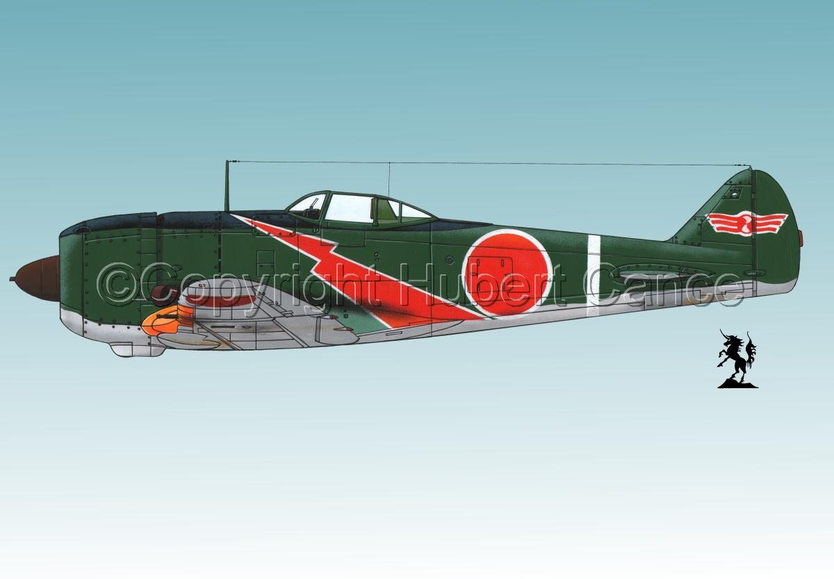 "Nakajima Ki.44-II Hei ""Shoki"" (Tojo) #2.3 (large view)"