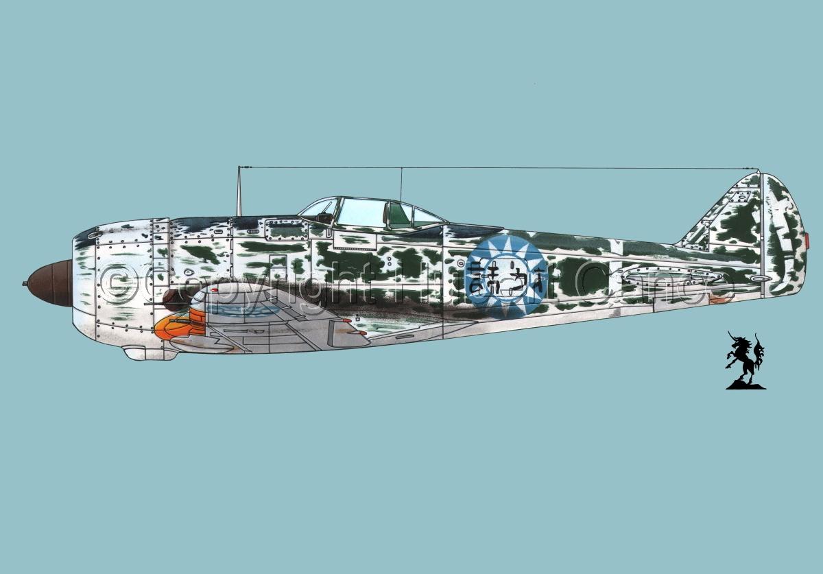 "Nakajima Ki.44-IIB ""Shoki"" (Tojo) #3.2 (large view)"