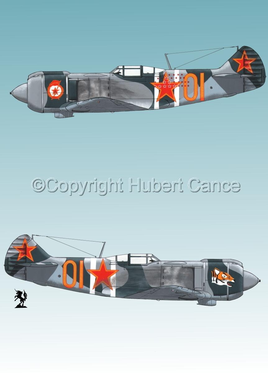 """""""Lavochkin La-5FN"""" 2-Views 2.3 (large view)"""