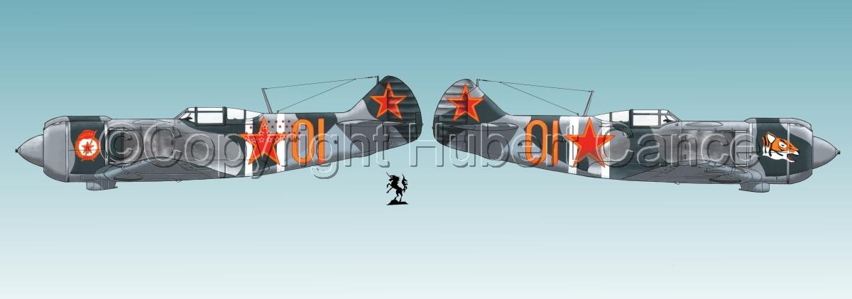"""Lavochkin La-5FN"" Panoramic 2-Views #1.3 (large view)"