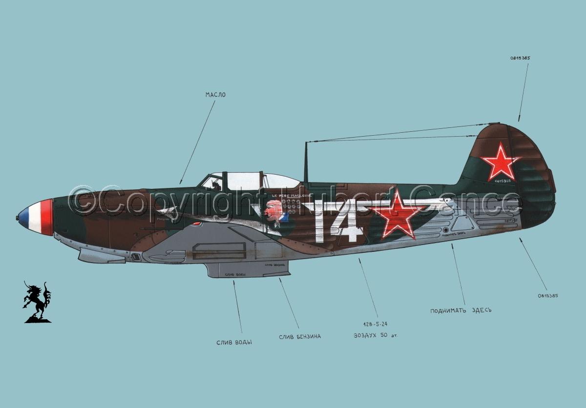 Yakovlev Yak-9D #1.2 (large view)