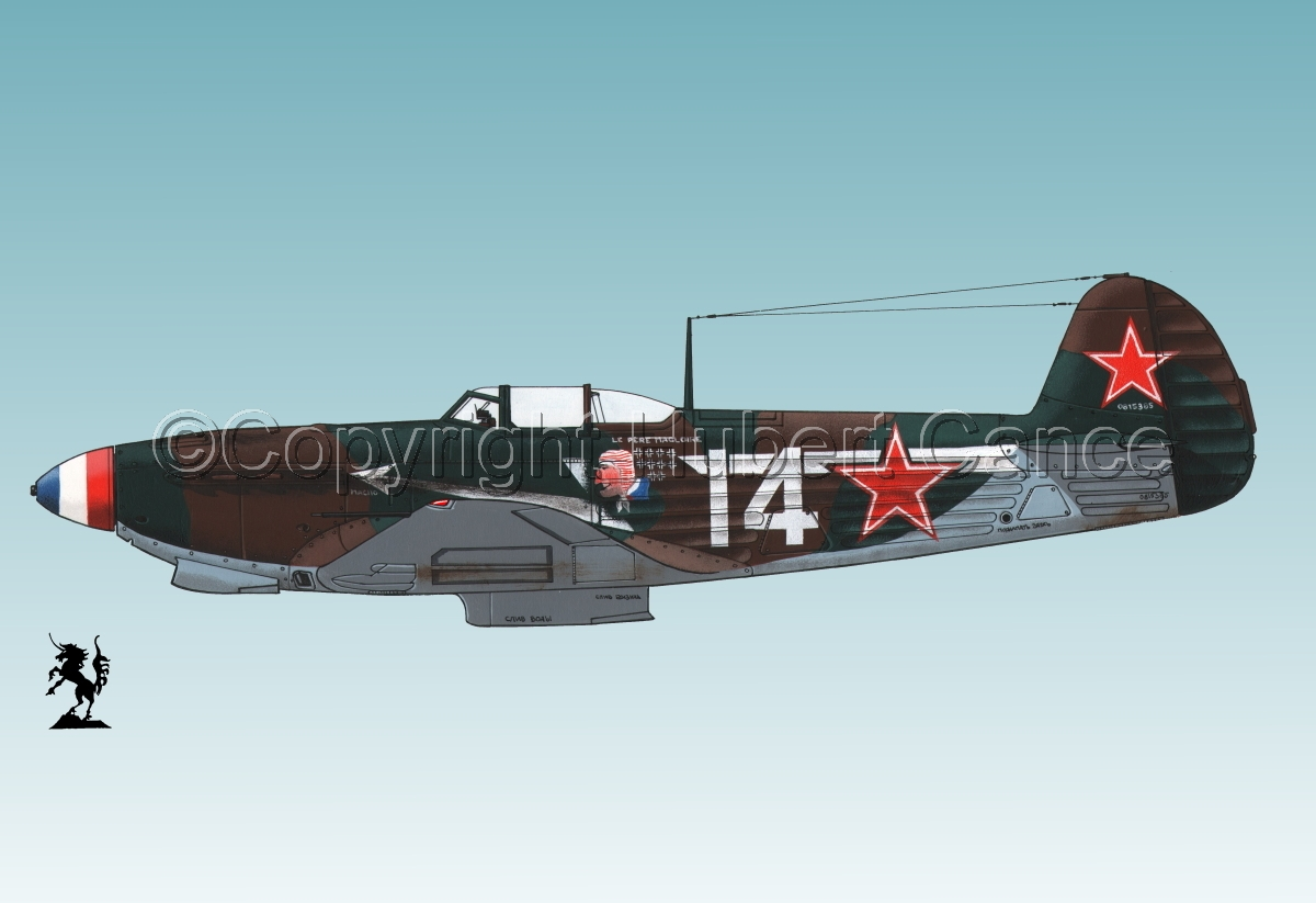 Yakovlev Yak-9D #1bis.3 (large view)
