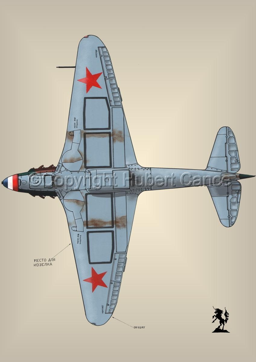 Yakovlev Yak-9D #4.3 (large view)