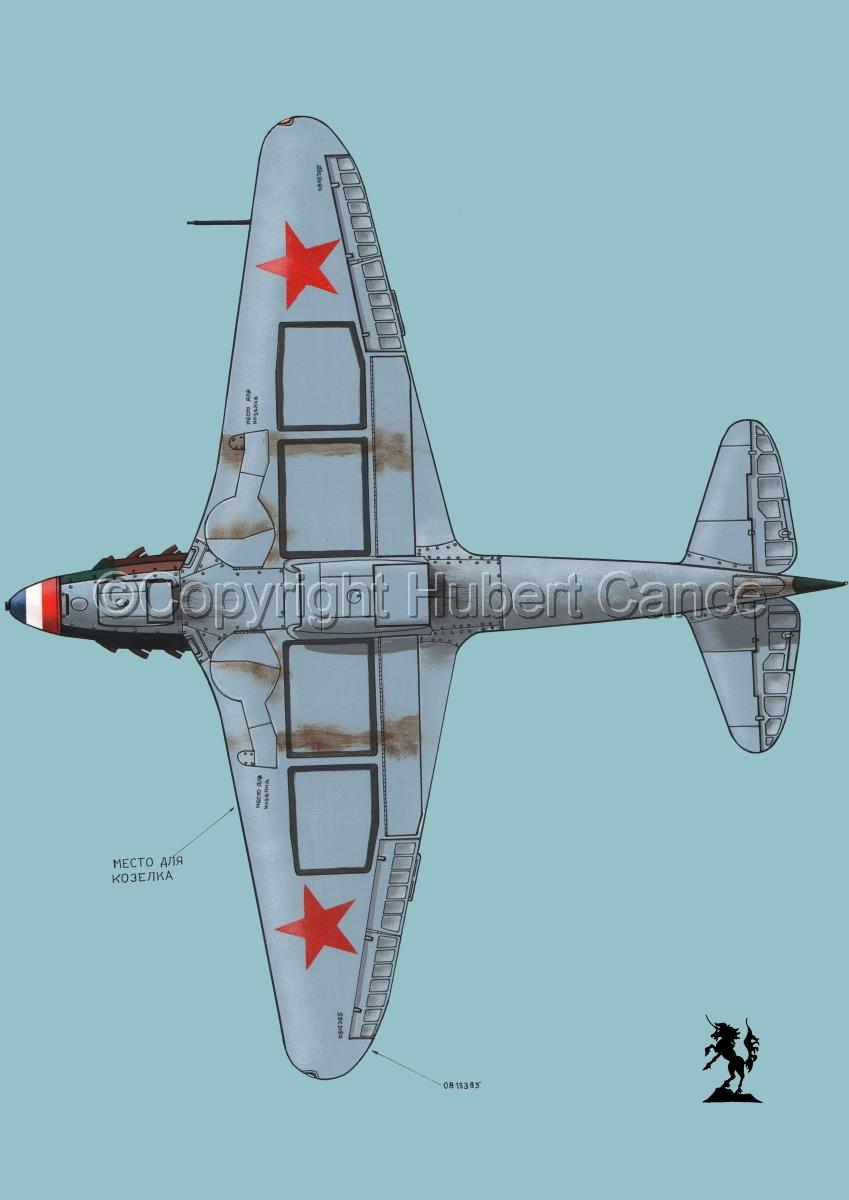 Yakovlev Yak-9D #4.2 (large view)