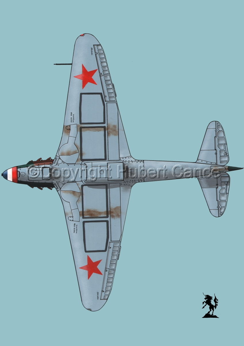 Yakovlev Yak-9D #4bis.2 (large view)