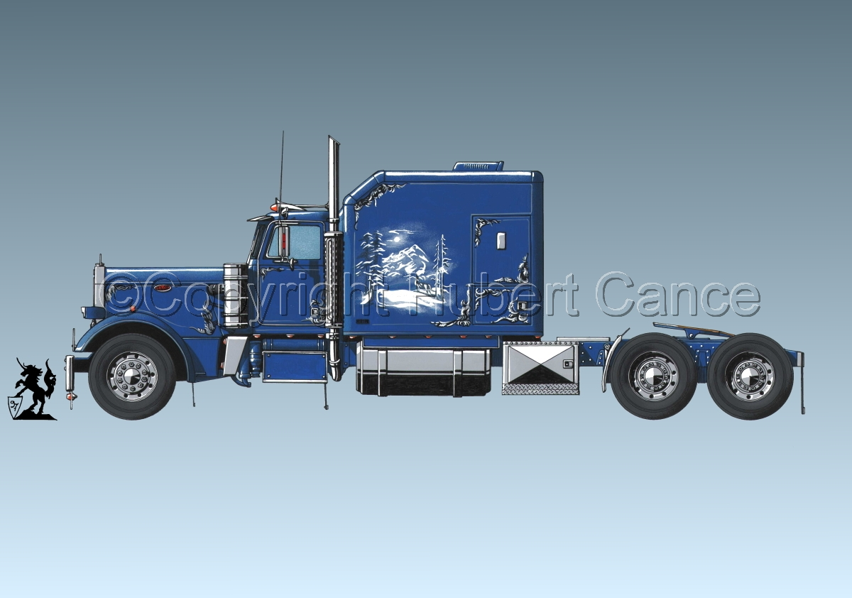 Peterbilt Tractor #3 (large view)