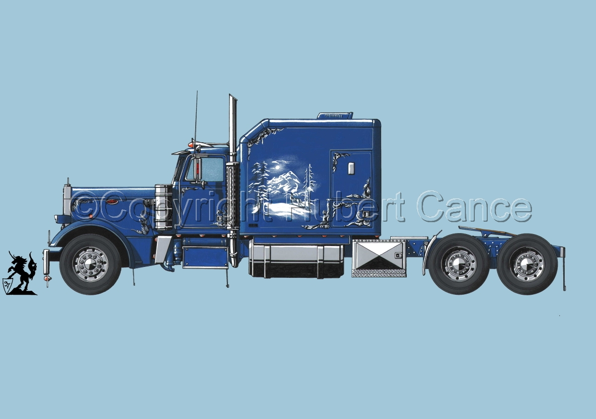 Peterbilt Tractor #2 (large view)