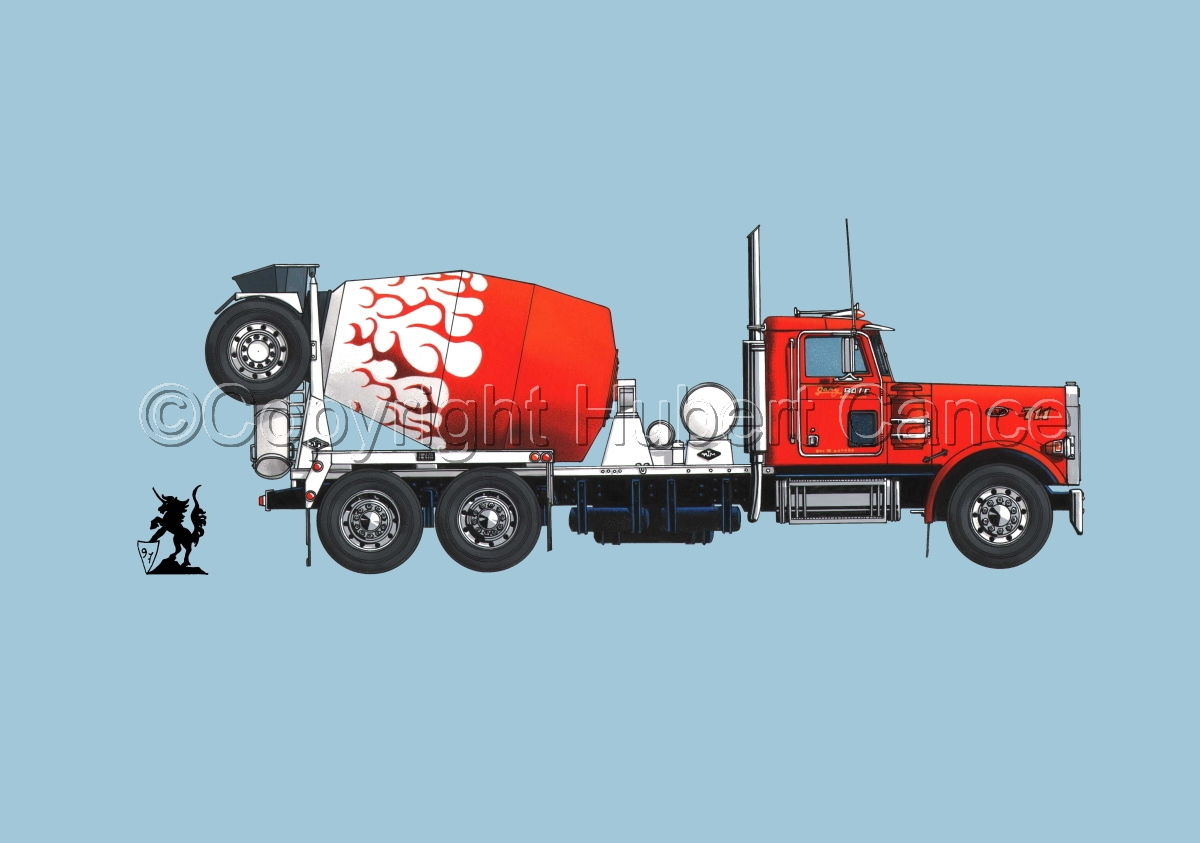 Peterbilt 357 Mixer #2 (large view)