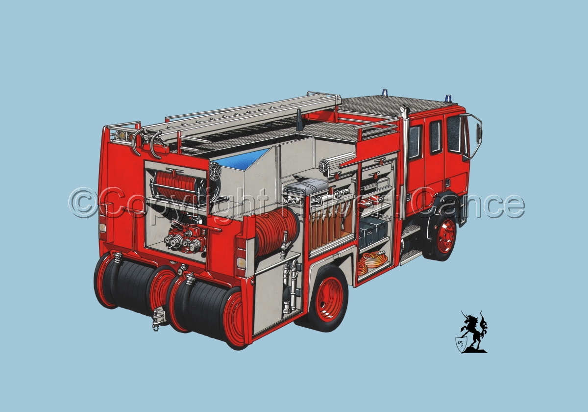Fire Truck Cutaway #2 (large view)