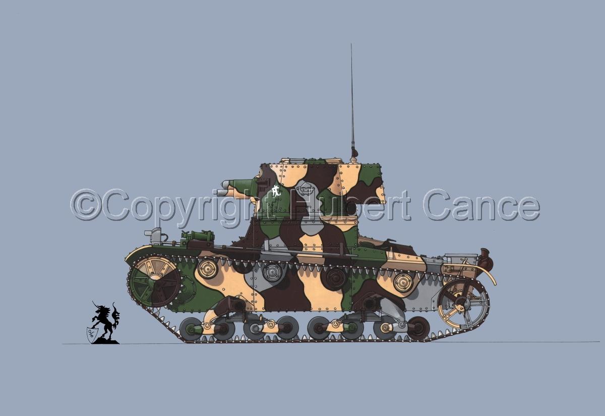 Vickers 6 Ton. Tank Model E #1.2 (large view)