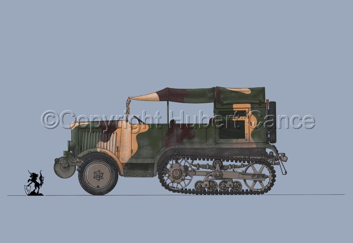 Unic P-107 BU Artillerie #2 (large view)