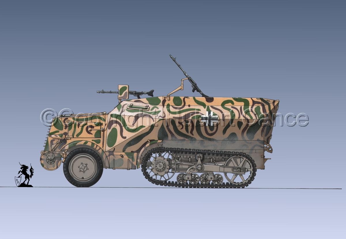Leichter Schützenpanzerwagen (2.Ausf.) auf Unic P-107 U.304(f) #3 (large view)