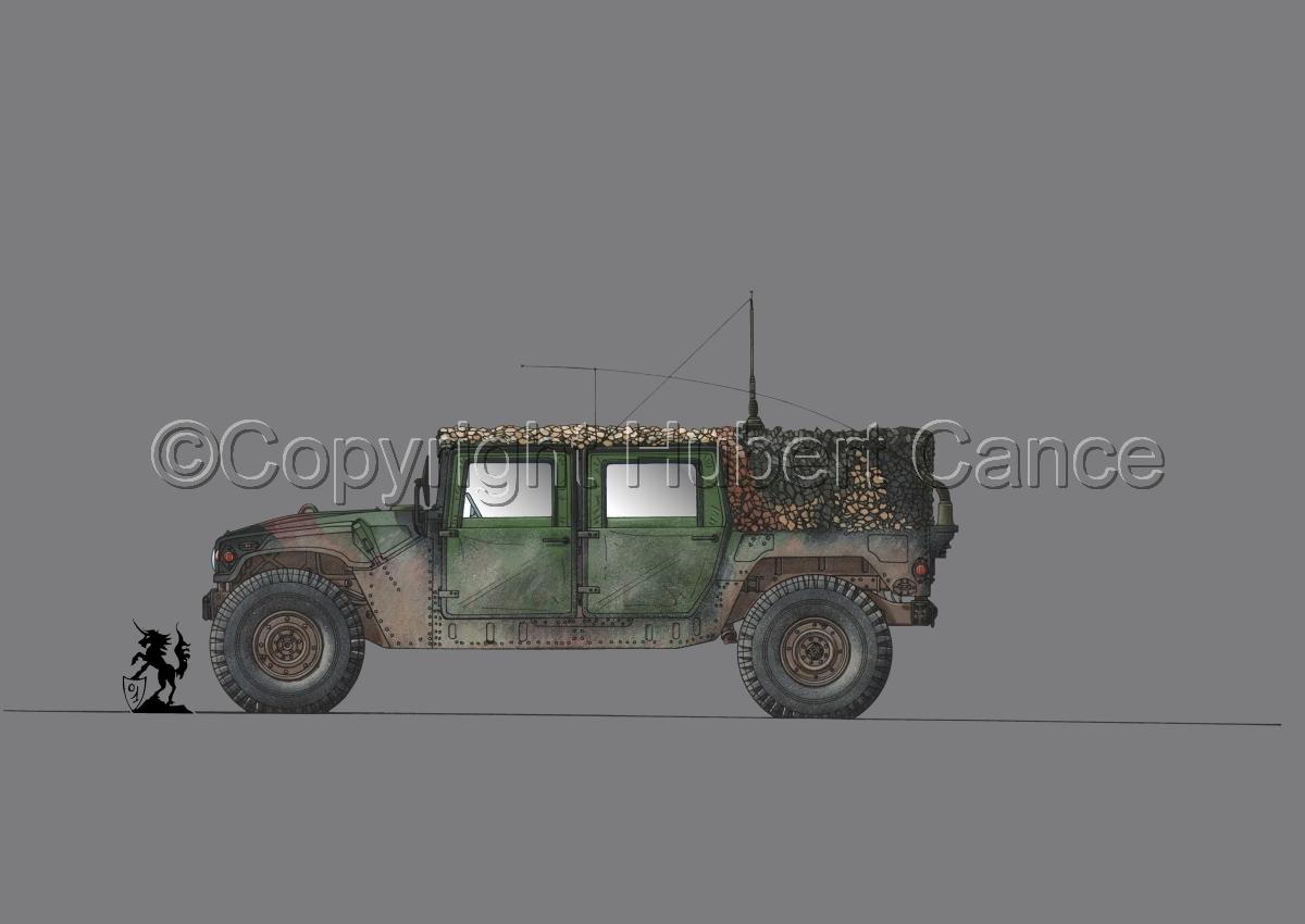 AMC M998 HMMWV Cargo #1.2 (large view)
