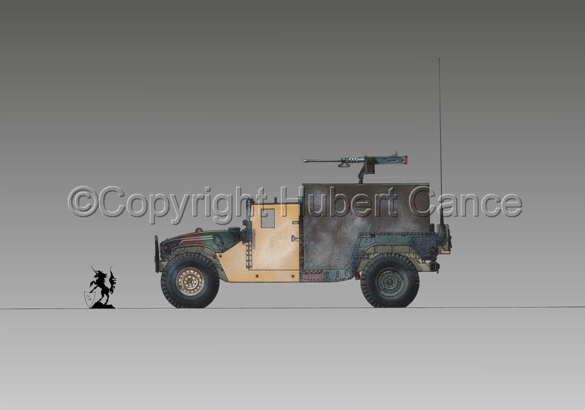 AMC M998 HMMWV Gun-Truck #1.3 (large view)