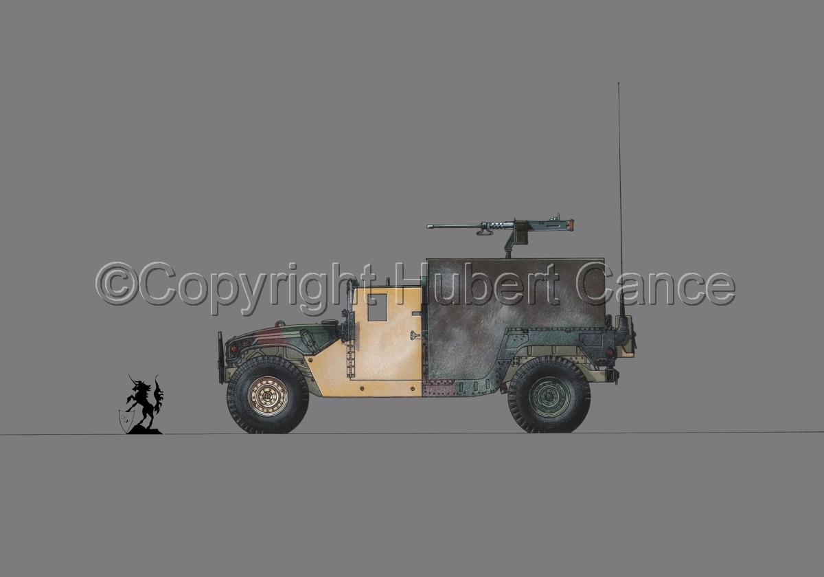 AMC M998 HMMWV Gun-Truck #1.2 (large view)