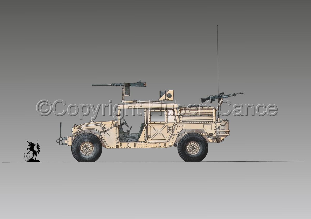 AMC M1025A2 HMMWV GMV-S #1.3 (large view)