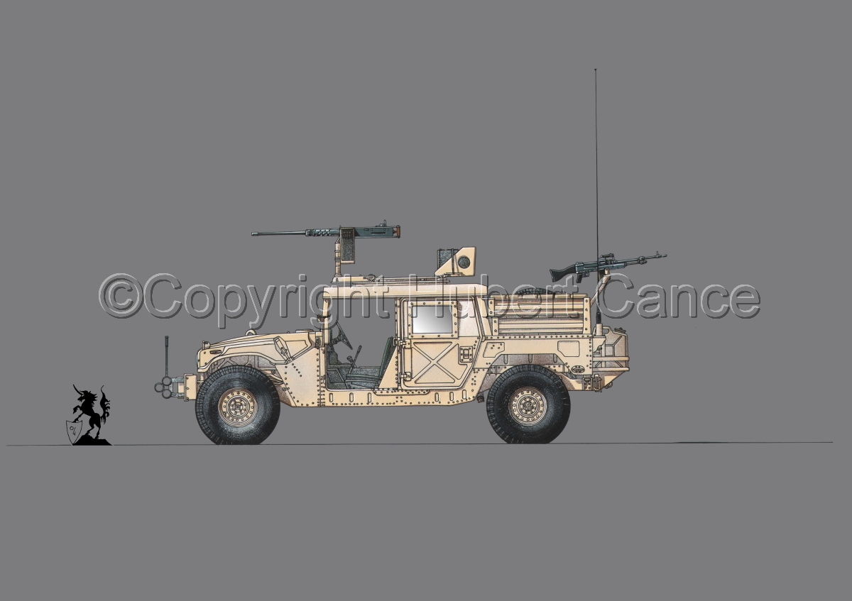 AMC M1025A2 HMMWV GMV-S #1.2 (large view)