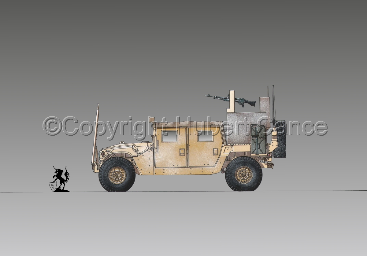 AMC M1038 HMMWV Gun-Truck #1.3 (large view)
