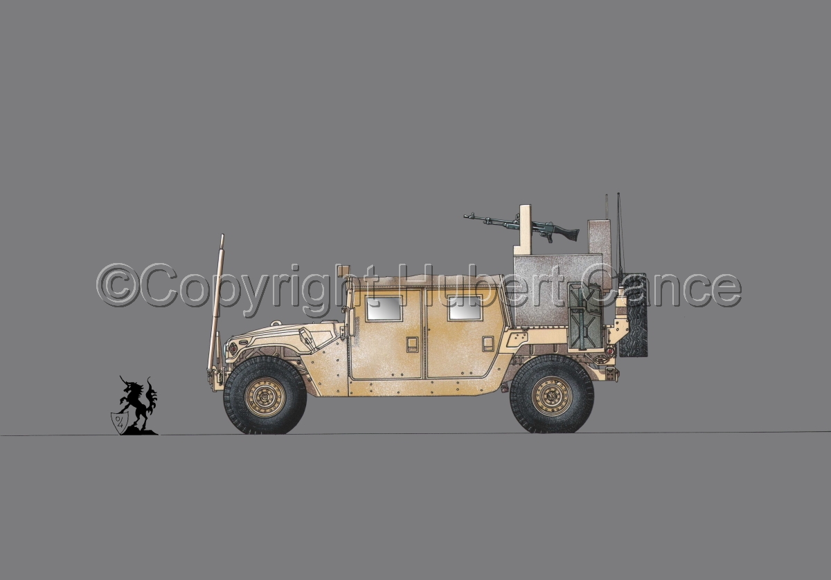 AMC M1038 HMMWV Gun-Truck #1.2 (large view)