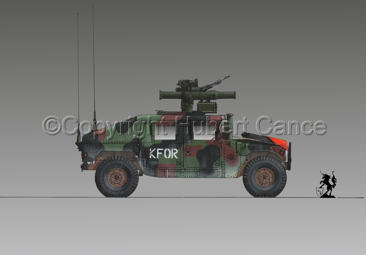 AMC M1045 HMMWV Tow Carrier #1.3 (large view)