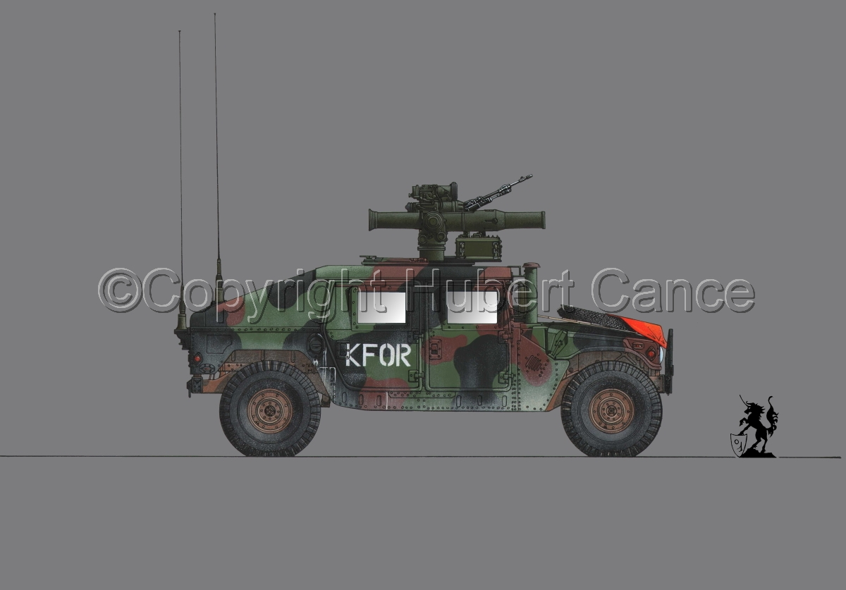 AMC M1045 HMMWV Tow Carrier #1.2 (large view)