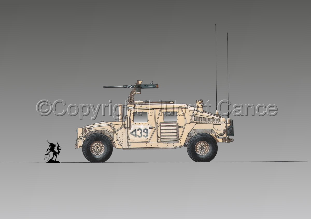 AMC M1114 Up-Armored HMMWV #2.2 (large view)