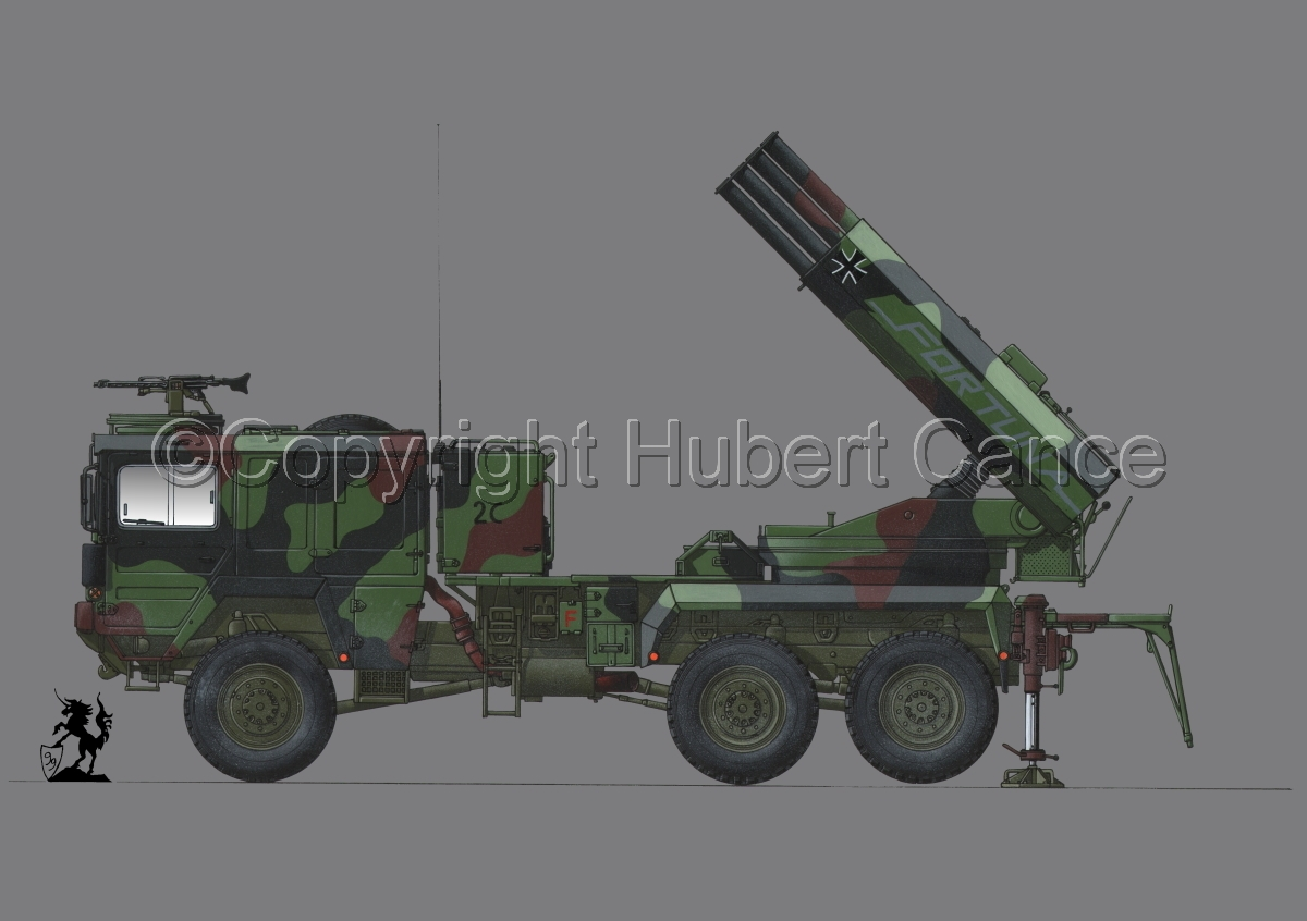 Raketenwerfer 110 mm auf Selbstfahrlafette 2 #1.2 (large view)