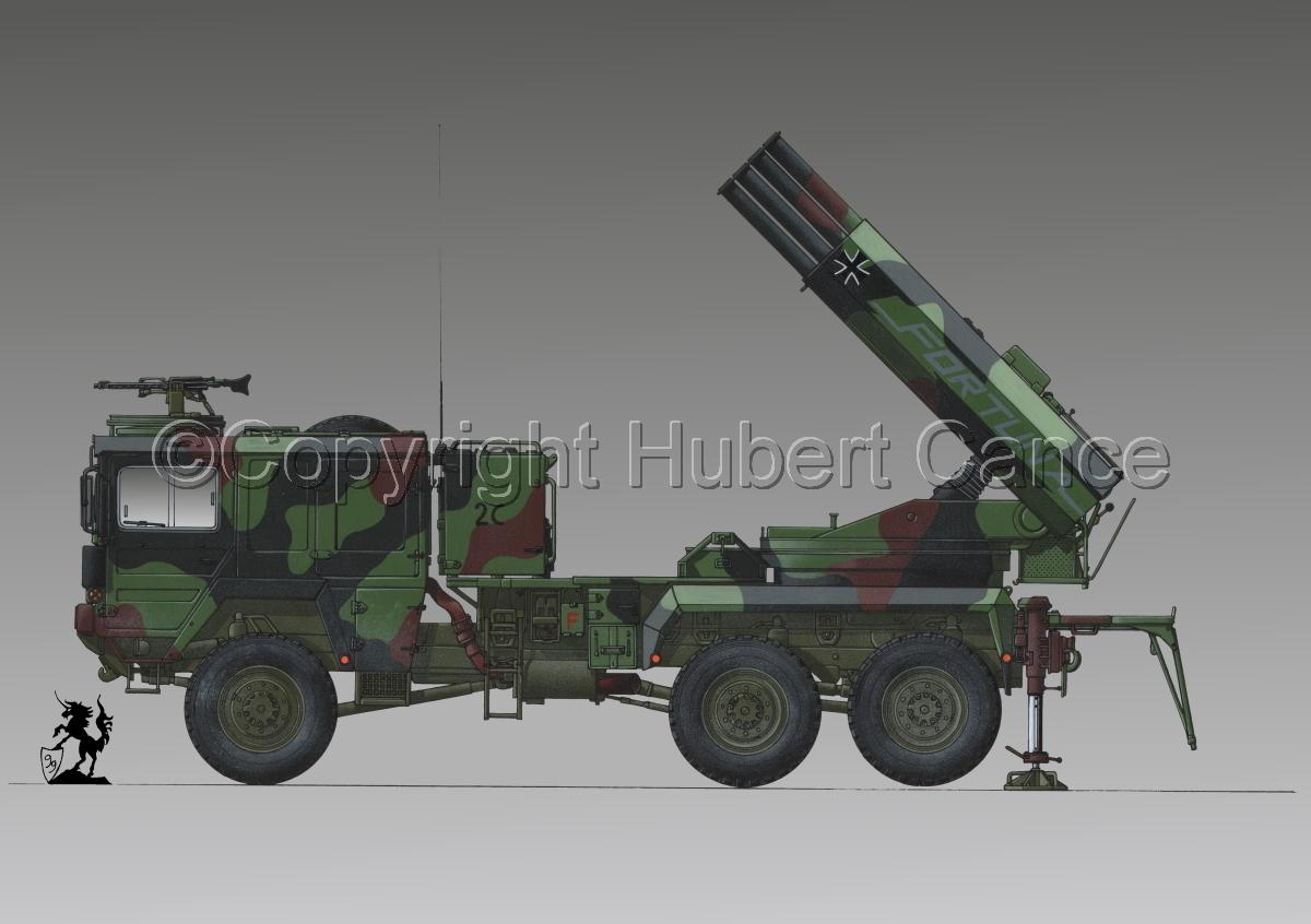 Raketenwerfer 110 mm auf Selbstfahrlafette 2 #1.3 (large view)