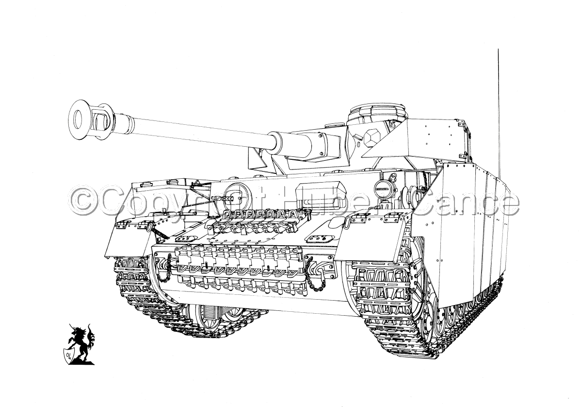PzKpfw.IV Ausf.G (B&W) #1.1 (large view)